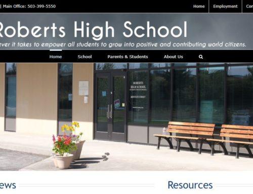 Roberts New Website