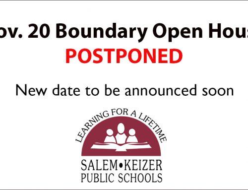 Nov. 20 Boundary Open House Event Postponed, New Date TBA