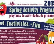 SKPS Spring Break Lunch Program 2019