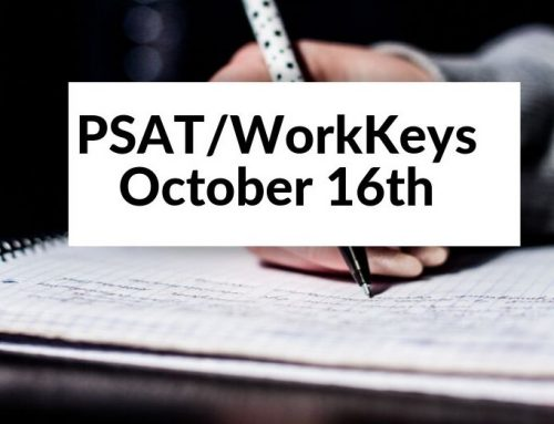 PSAT/WorkKeys Schedules – October 16