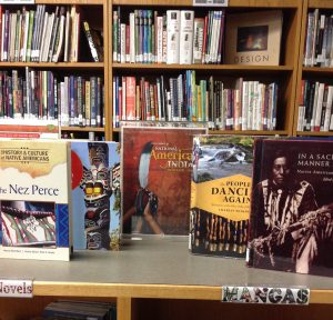 Native American month. Books