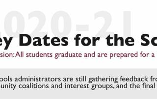 2020-21 Key Dates